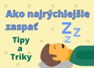 ako najrýchlejšie zaspať