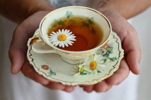 Bylinný čaj na spanie