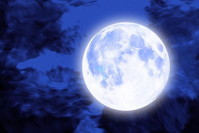 Mesiac v noci