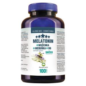 Melatonín Mučenka Medovka B6