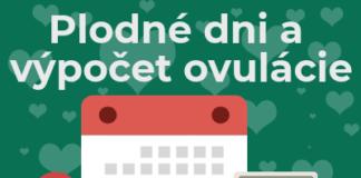 plodne dni výpočet ovulácie