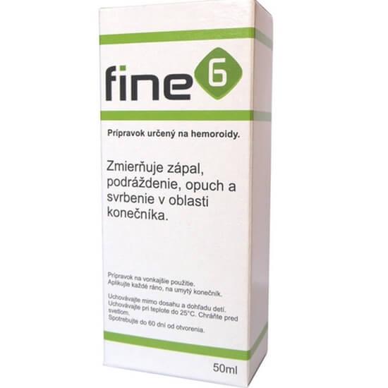 Fine6 olej na hemoroidy 1 x 50 ml recenzia