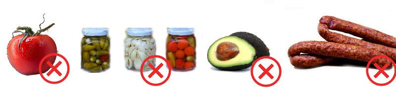 Histamínová intolerancia - zakázané potraviny