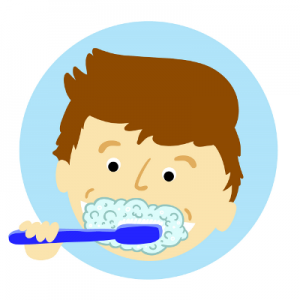 umývanie zubov u detí