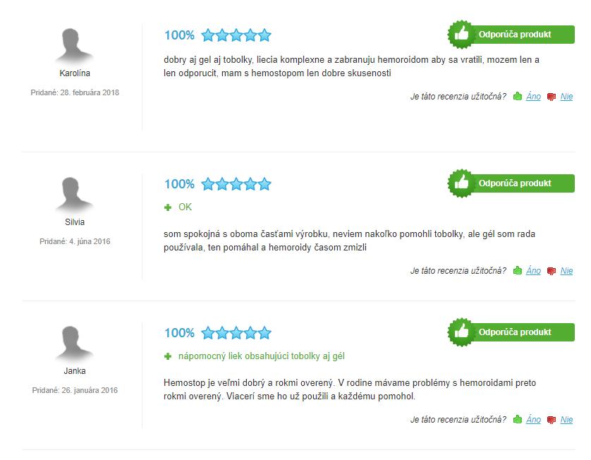 Hemostop - skúsenosti a recenzie