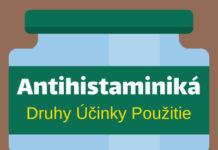 antihistaminiká