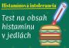 Histamínová intolerancia - test na obsah histamínu v jedlách