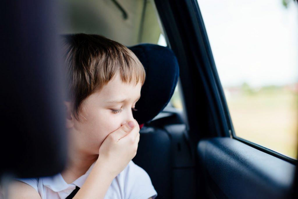 Antihistaminiká sa používajú aj na liečbu kinetóz pri cestovaní, nevoľnosť a zvracanie