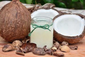 Kokosový olej na opaľovanie