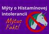 Mýty o histamínovej intolerancii