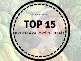 Top 15 protizápalových jedál