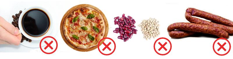 Zakázané potraviny - Ulcerózna kolitída