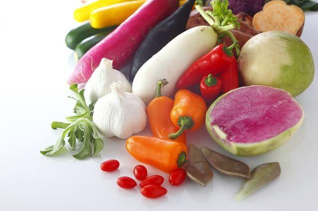 Zelenina - hladina histamínu potraviny