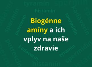 Biogénne amíny a ich vplyv na naše zdravie (+ výskyt v jedle)