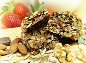 Energetické tyčinky - nezdravé potraviny
