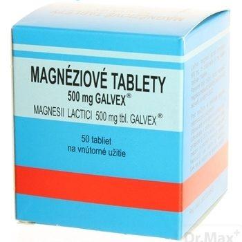 MAGNÉZIOVÉ TABLETY 500 MG - GALVEX