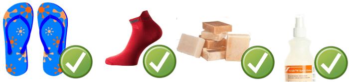 Mykóza nechtov a nôh - prevencia