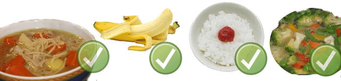 Otrava jedlom - vhodné potraviny