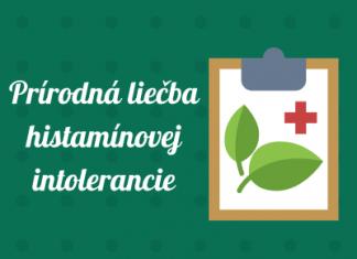 Prírodná liečba histamínovej intolerancie