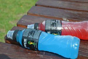 Športové nápoje - nezdravé potraviny
