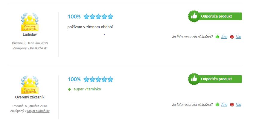 Jamieson vitamín C 1000 mg - recenzie a skúsenosti