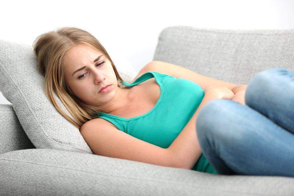 Predmenštruačný syndróm a bolestivá menštruácia