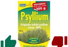 Recenzia: Psyllium na lepšie trávenie (účinky, dávkovanie, cena)