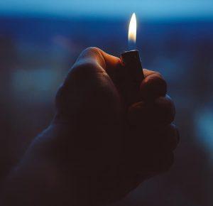 Zapaľovač popáleniny