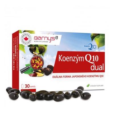 Barnys Koenzým Q10 dual 60 mg