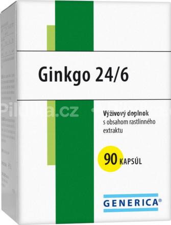 GENERICA GINKGO 24/6 cps 40 mg