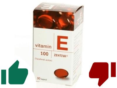 Vitamín E recenzia