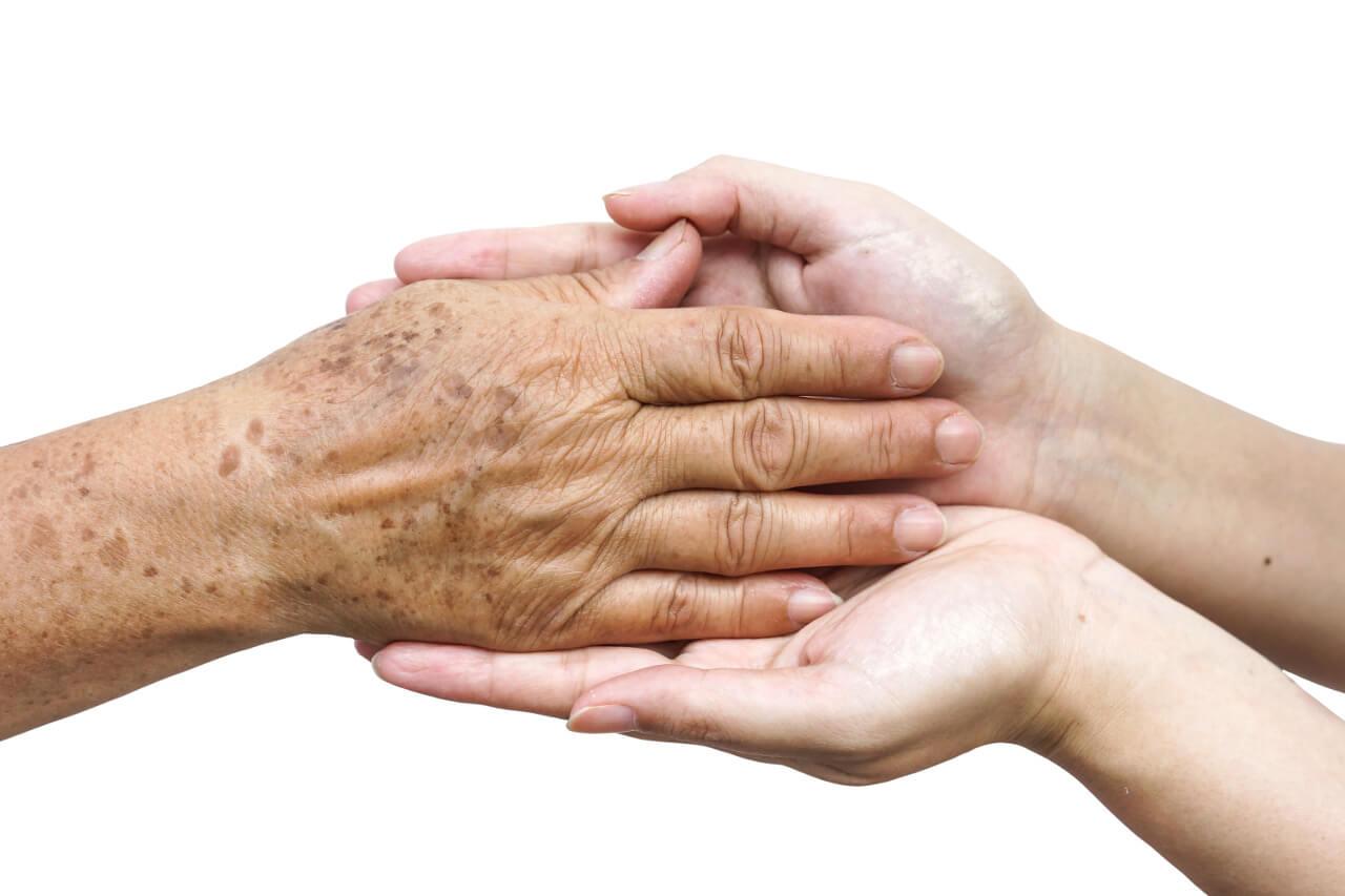Pigmentové škvrny na rukách