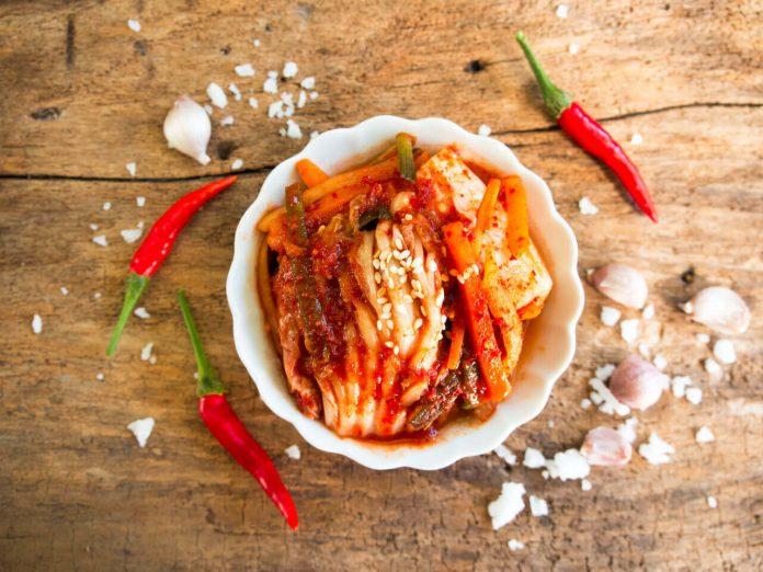 Kimchi - kórejské jedlo