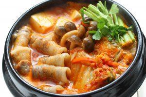 Kimchi polievka