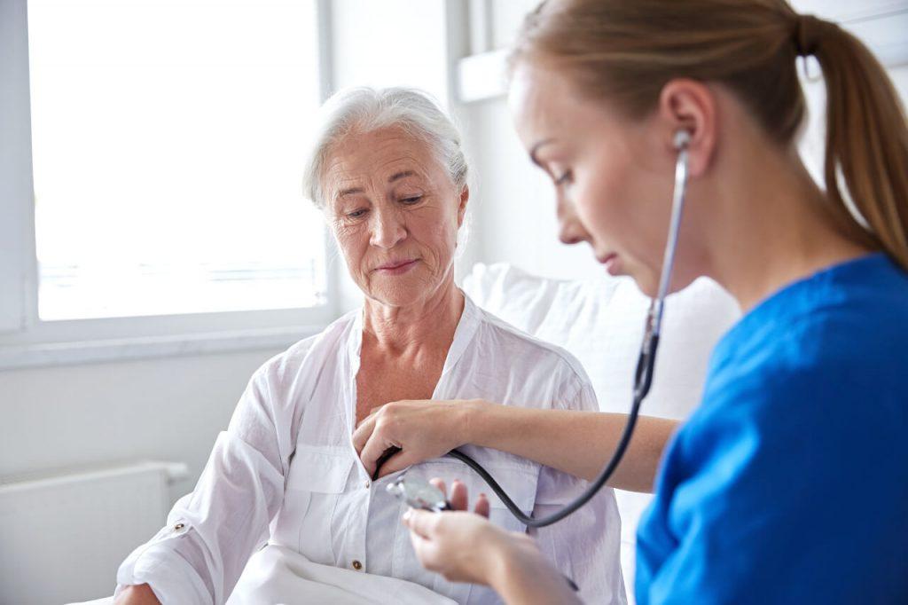 Perikarditída - diagnostika, stetoskop