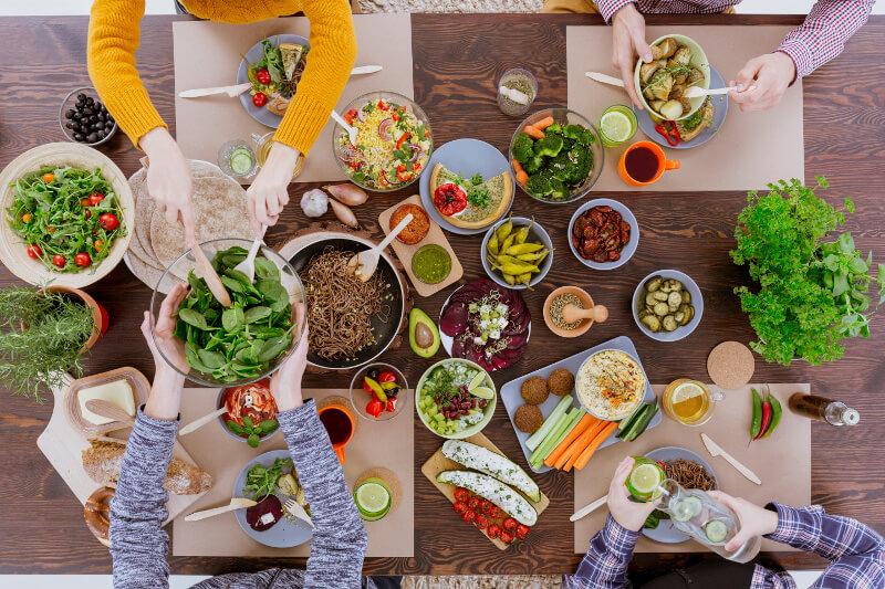 Vegetariánska strava - má vegetarián dlhší život?
