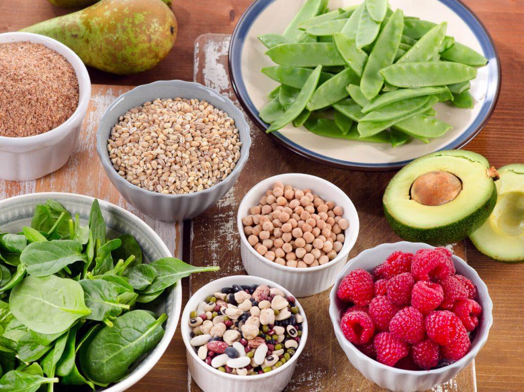 Zdravá strava, vyvážené stravovanie, vláknina