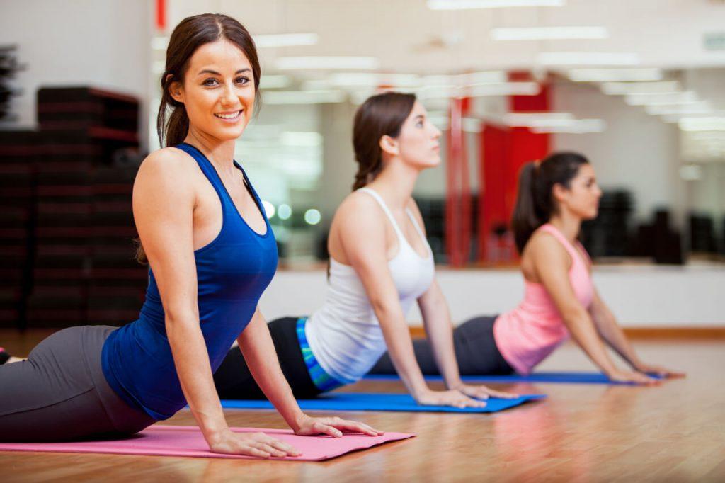 Vinyasa joga cviky na chrbticu