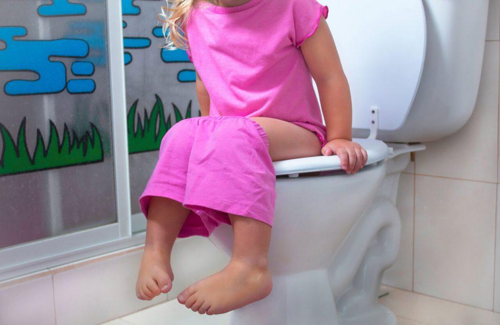 Dieťa na záchode - problémy s močením, zápal obličiek u detí