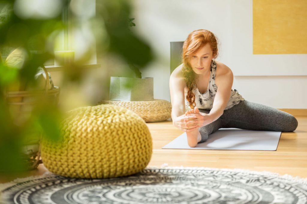 Cvičenie doma, joga
