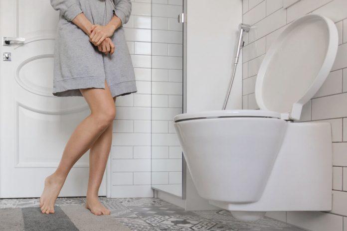 Časté močenie, toaleta