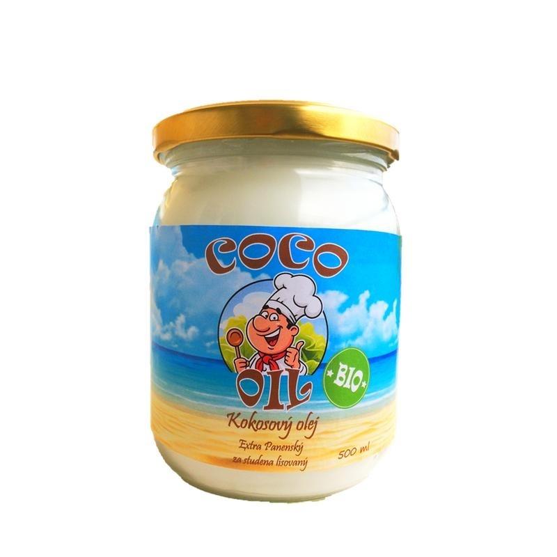 BIO Kokosový olej extra panenský