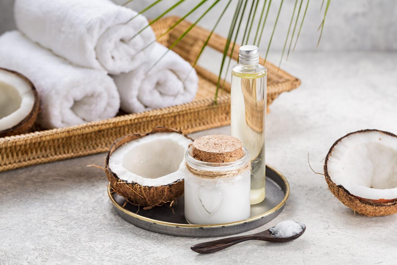 Kokosový olej na vlasy a na tvár