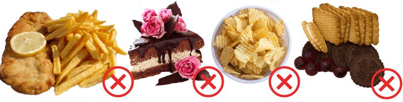 Zakázané potraviny pri cukrovke