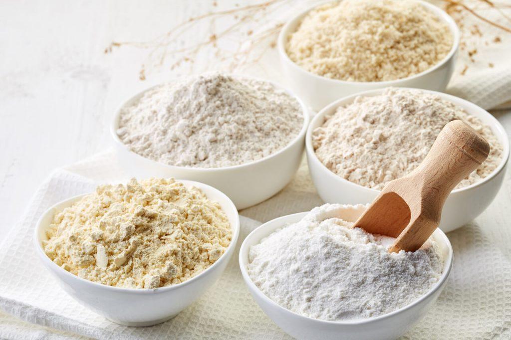 Bezlepková diéta - gluten free múky (mandľová, pohánková, amarantová, cícerová, ryžová múka)