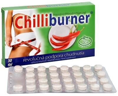 Chilliburner - tabletky na chudnutie