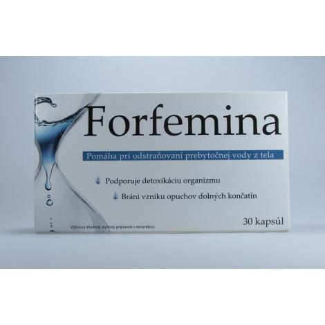 Forfemina na odvodnenie tela