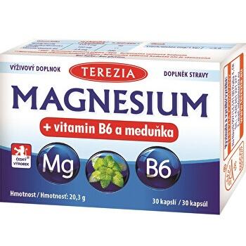 MAGNESIUM + vitamín B6 a medovka - TEREZIA (30 kapsúl)