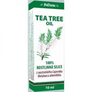 Tee Trea Oil - 100 % čajovníkový olej rastlinná silica (10 ml)