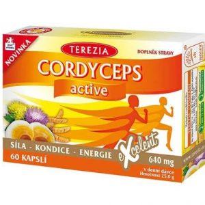 TEREZIA CORDYCEPS active (60 kapsúl)